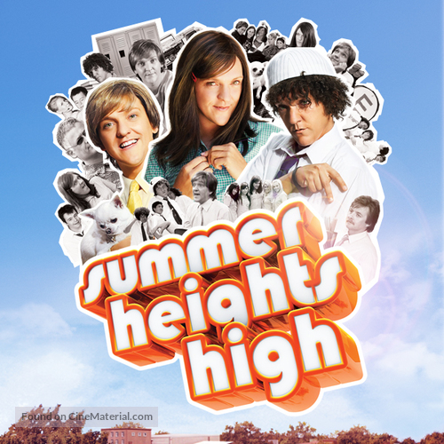 """Summer Heights High"" - Movie Poster"