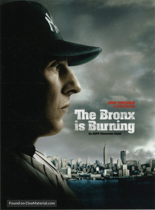 """""""The Bronx Is Burning"""" - Movie Poster"""