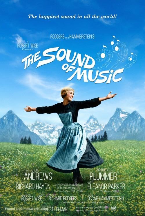 The Sound of Music - British Movie Poster