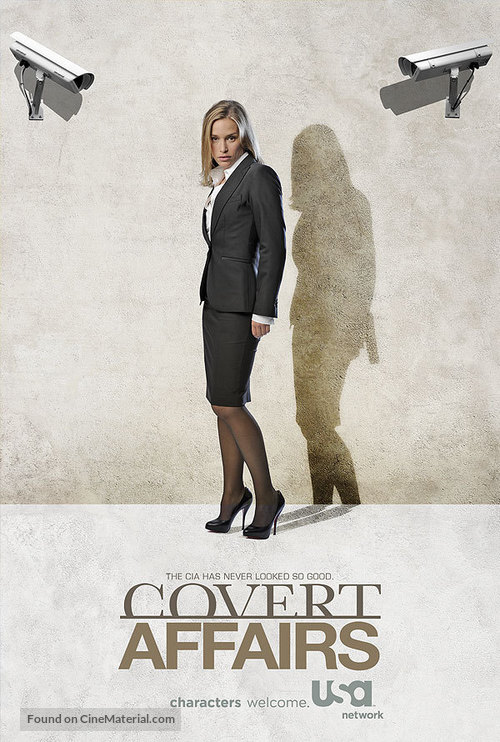 """Covert Affairs"" - Movie Poster"