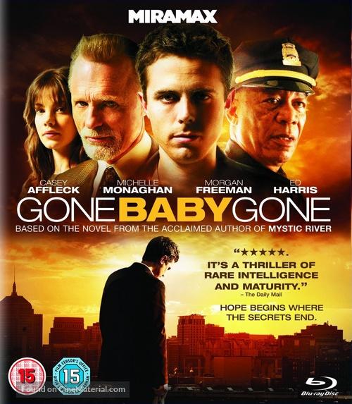 Gone Baby Gone - British Blu-Ray movie cover