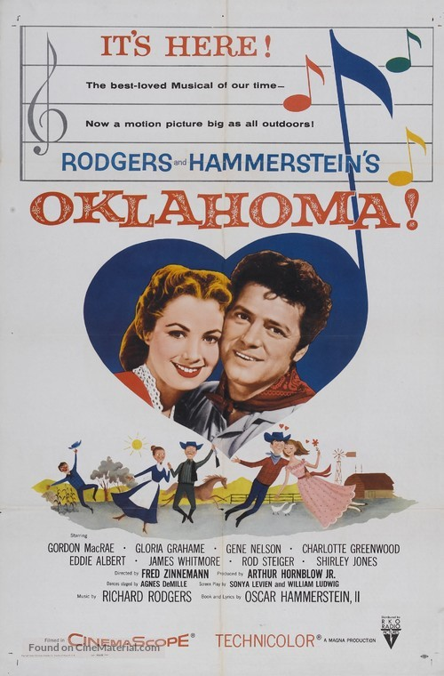 Oklahoma! - Movie Poster