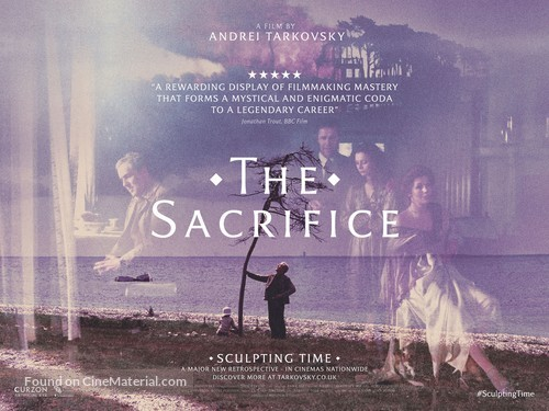 Offret - British Re-release movie poster