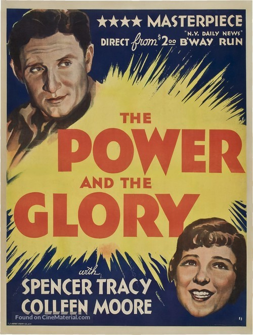 The Power and the Glory - Movie Poster