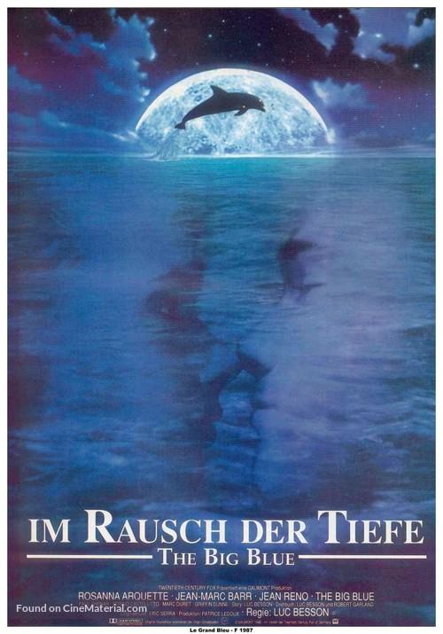 Le grand bleu - German Movie Poster