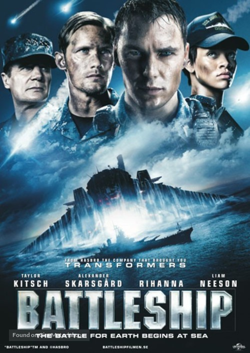 Battleship - Swedish Movie Poster