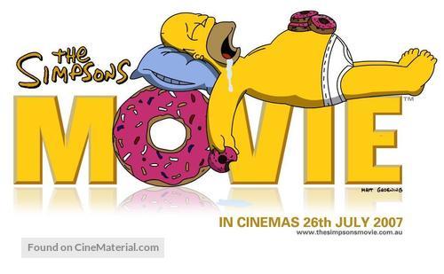 The Simpsons Movie 2007 Australian Logo