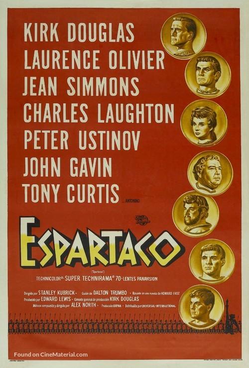 Spartacus - Argentinian Movie Poster