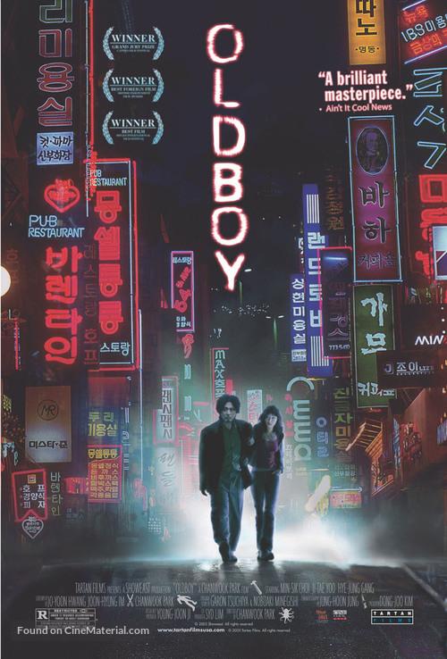 Oldboy - Movie Poster