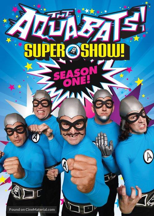 """""""The Aquabats! Super Show!"""" - DVD cover"""