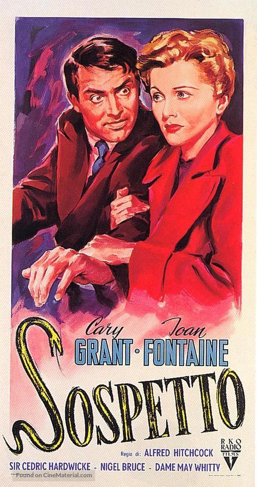 Suspicion - Italian Movie Poster