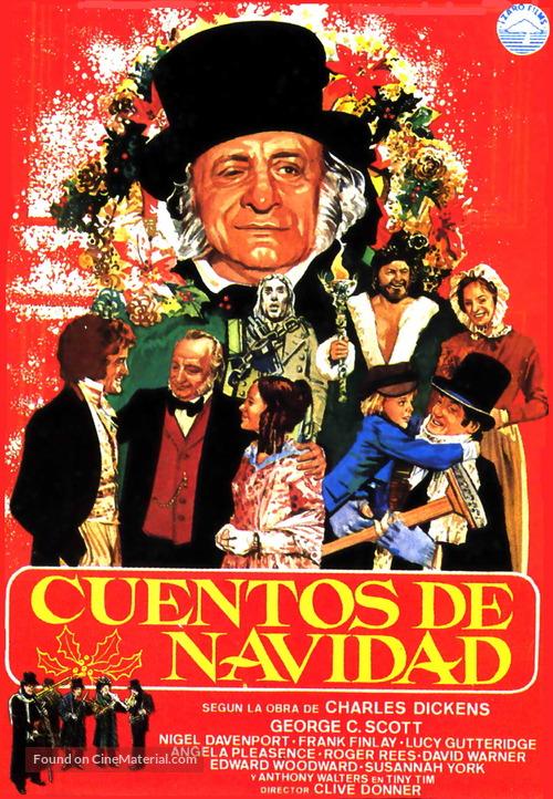 A Christmas Carol - Spanish Movie Poster