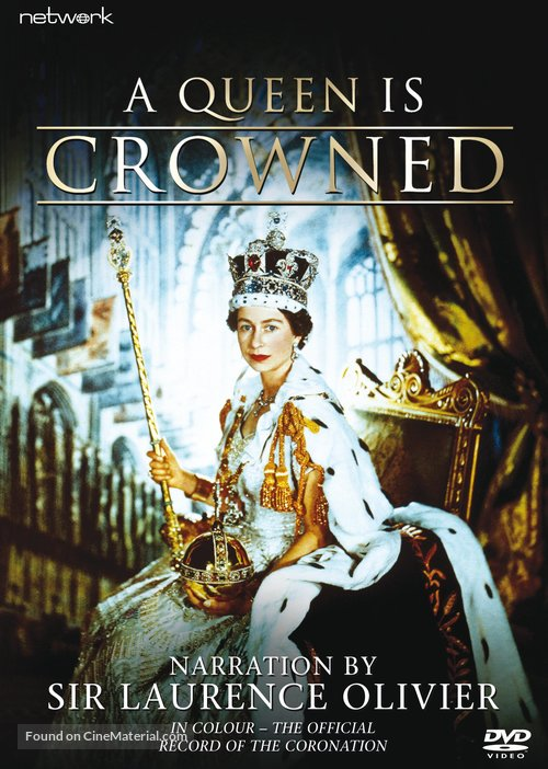 A Queen Is Crowned - British DVD movie cover