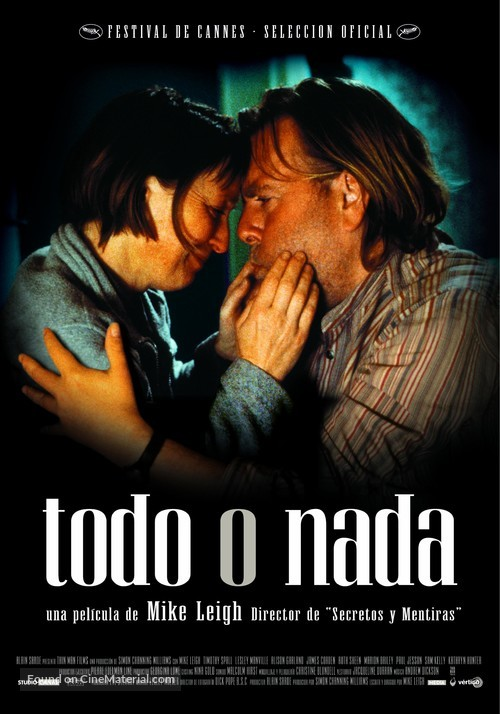All or Nothing - Spanish Movie Poster