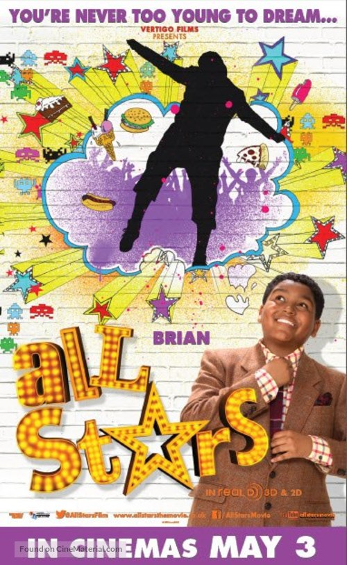 All Stars - British Movie Poster