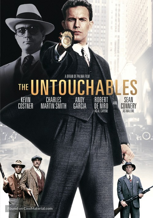 The Untouchables - DVD movie cover