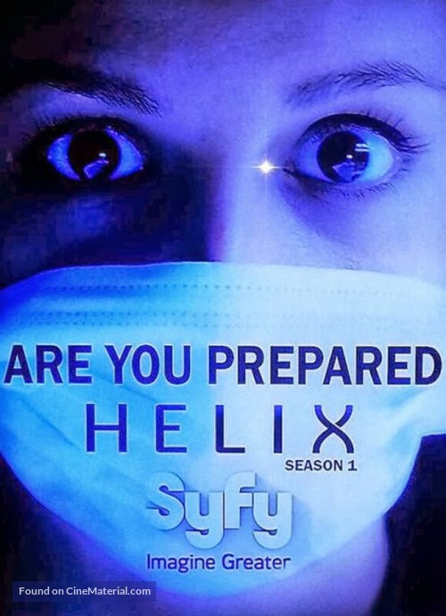 """Helix"" - DVD movie cover"