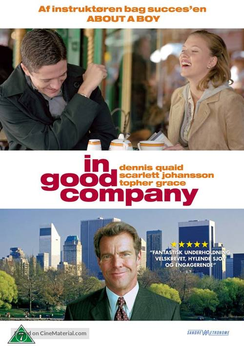 In Good Company - Danish Movie Cover
