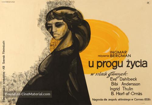 Nära livet - Polish Movie Poster