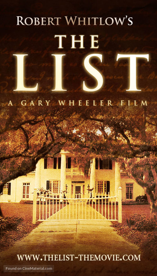 The List - poster