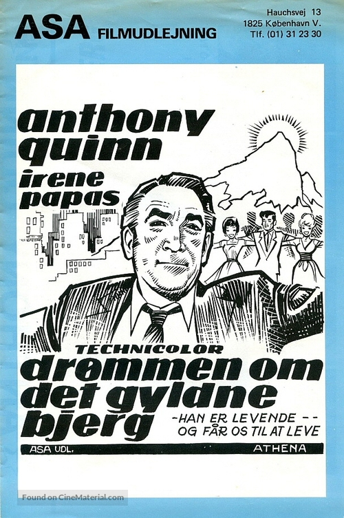 A Dream of Kings - Danish Movie Poster