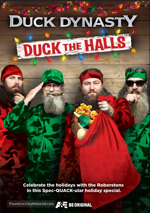 """""""Duck Dynasty"""" - DVD cover"""