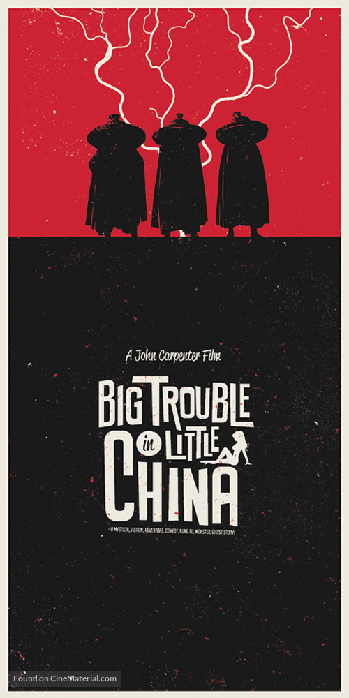 Big Trouble In Little China - Movie Poster