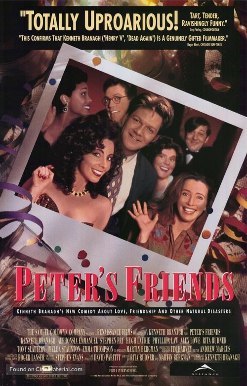 Peter's Friends - Canadian Movie Poster