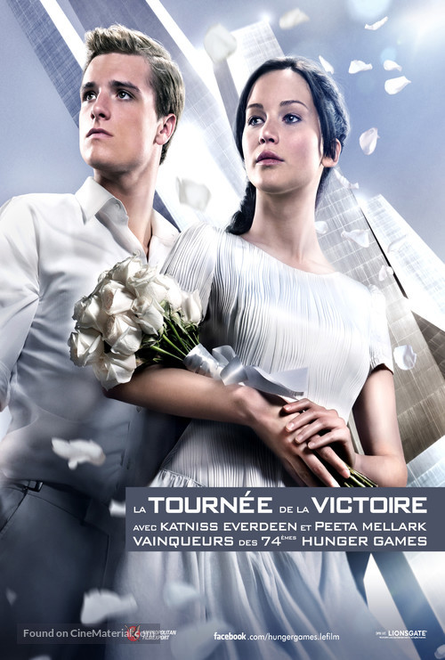 The Hunger Games: Catching Fire - French Movie Poster