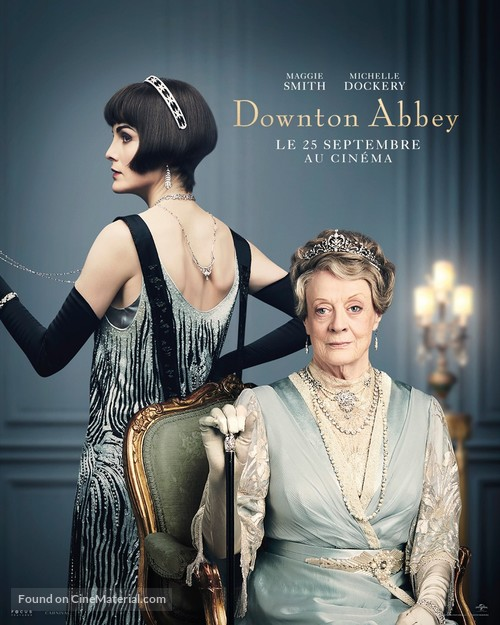 Downton Abbey - French Movie Poster