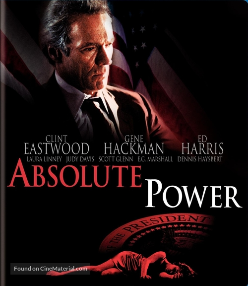 Absolute Power - Blu-Ray movie cover