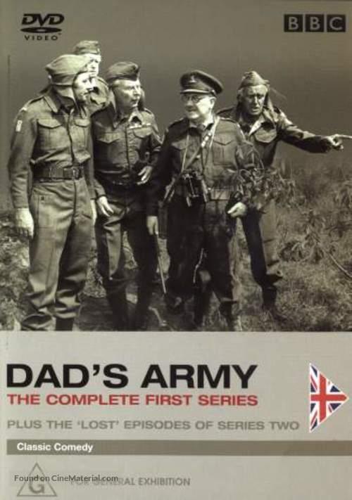 """Dad's Army"" - Australian DVD movie cover"