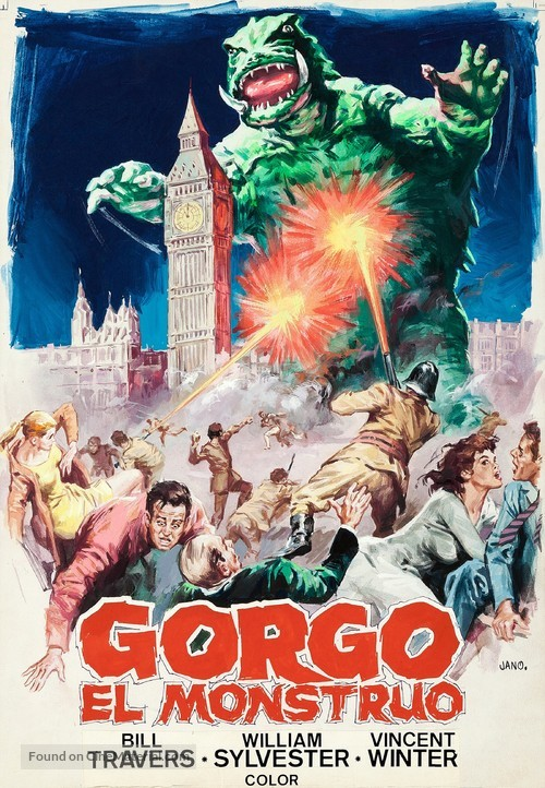 Gorgo - Spanish Movie Poster