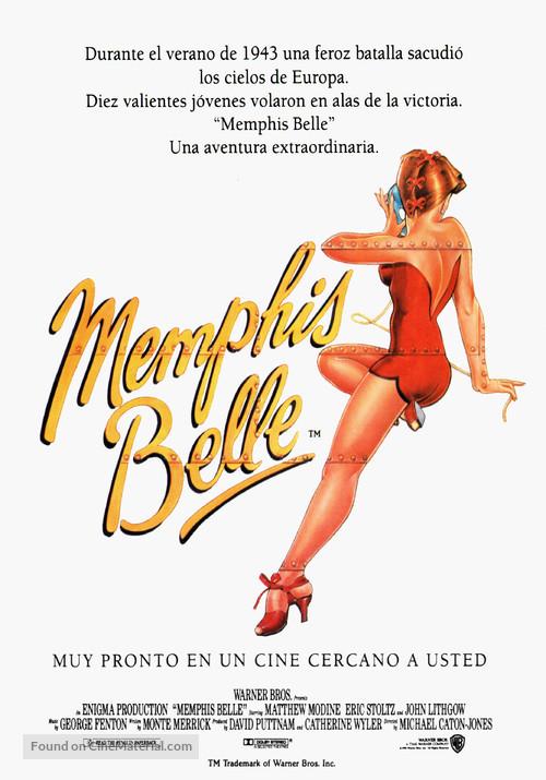 Memphis Belle - Spanish Movie Poster