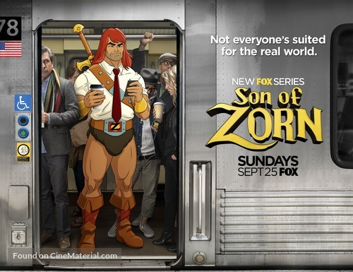 """""""Son of Zorn"""" - Movie Poster"""