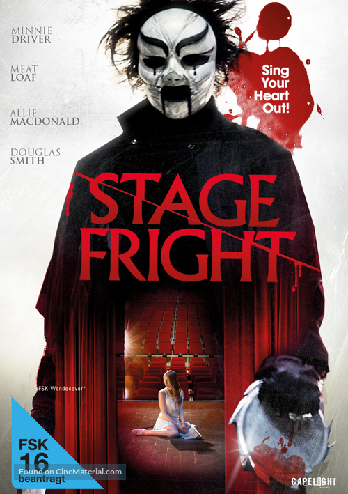 Stage Fright Poster////Stage Fright Movie Poster////Movie Poster////Poster Reprint