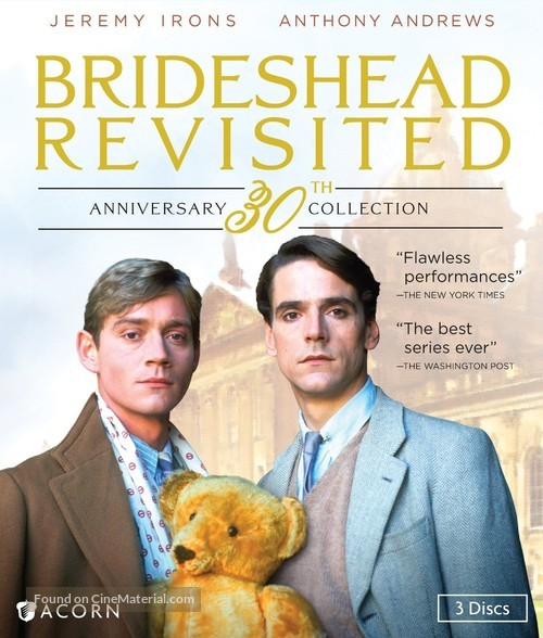 """""""Brideshead Revisited"""" - Blu-Ray movie cover"""