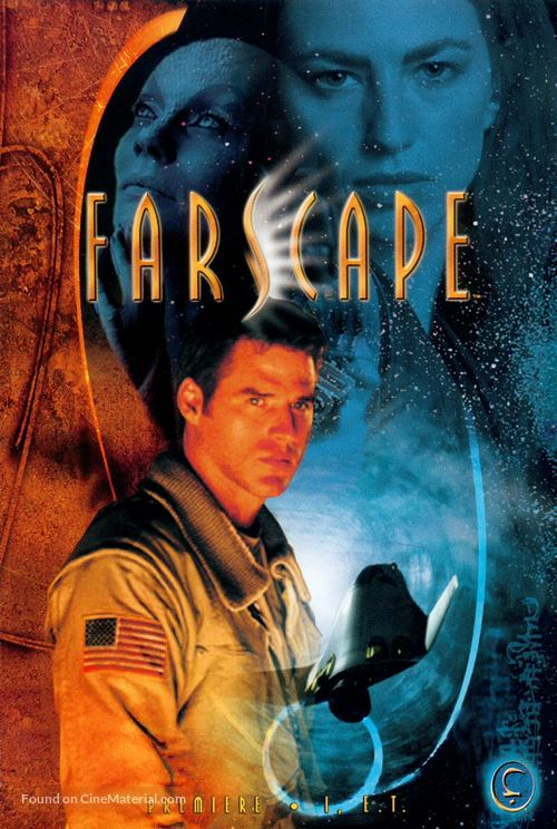 """Farscape"" - DVD movie cover"
