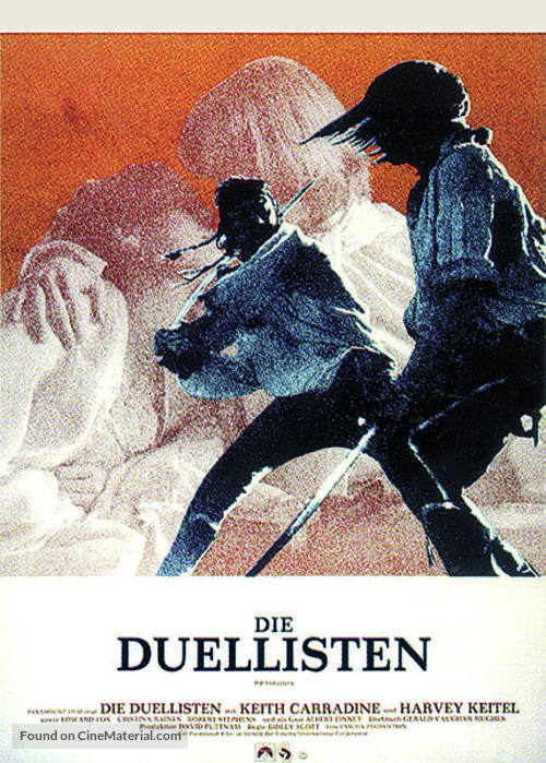 The Duellists - German Movie Poster