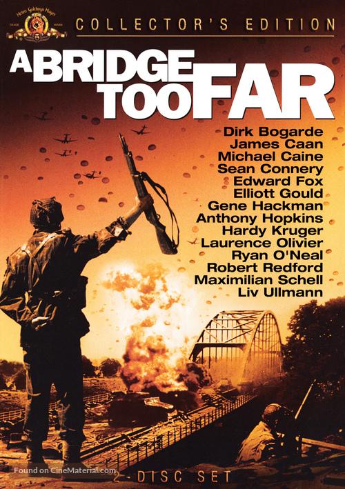 A Bridge Too Far - DVD movie cover