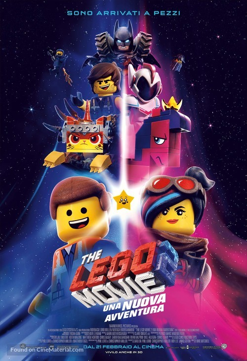 The Lego Movie 2: The Second Part - Italian Movie Poster