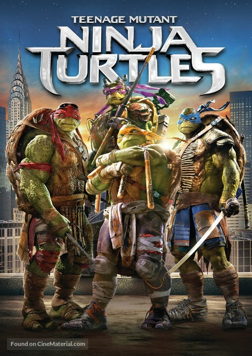 Teenage Mutant Ninja Turtles - Movie Cover