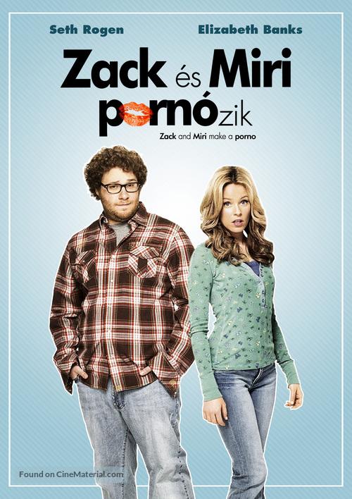 Zack and Miri Make a Porno - Hungarian Movie Cover