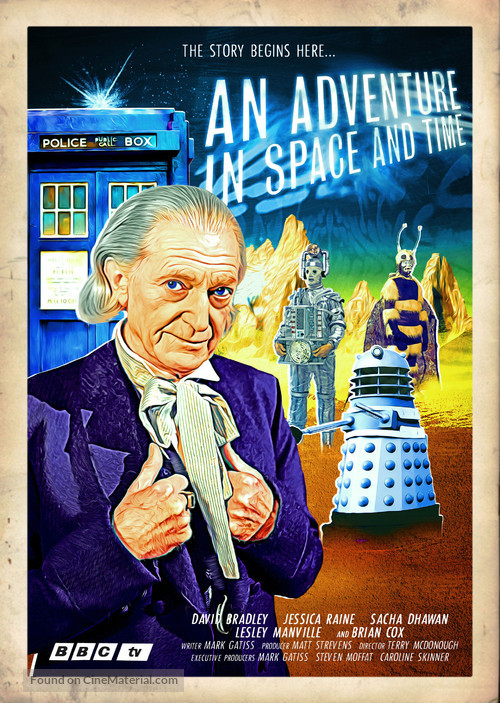 An Adventure in Space and Time - British Movie Poster