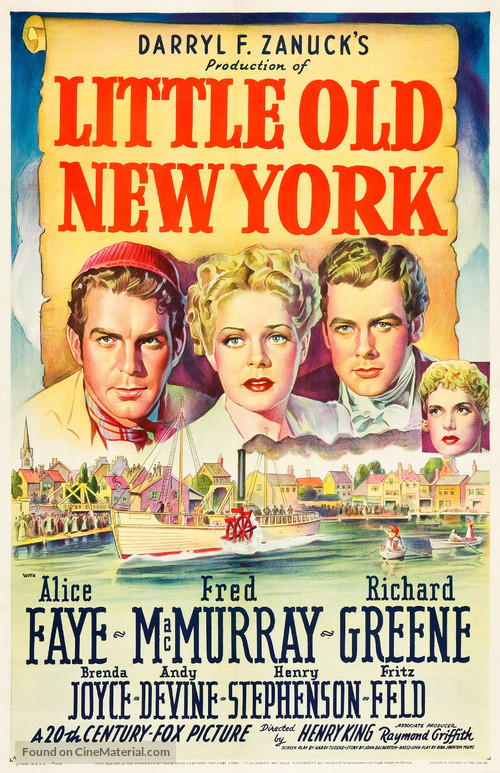 Little Old New York - Movie Poster