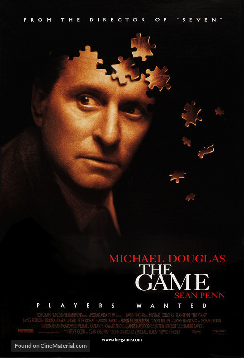 The Game - Movie Poster
