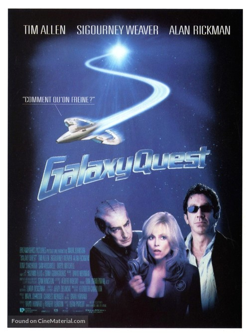 Galaxy Quest - French Movie Poster