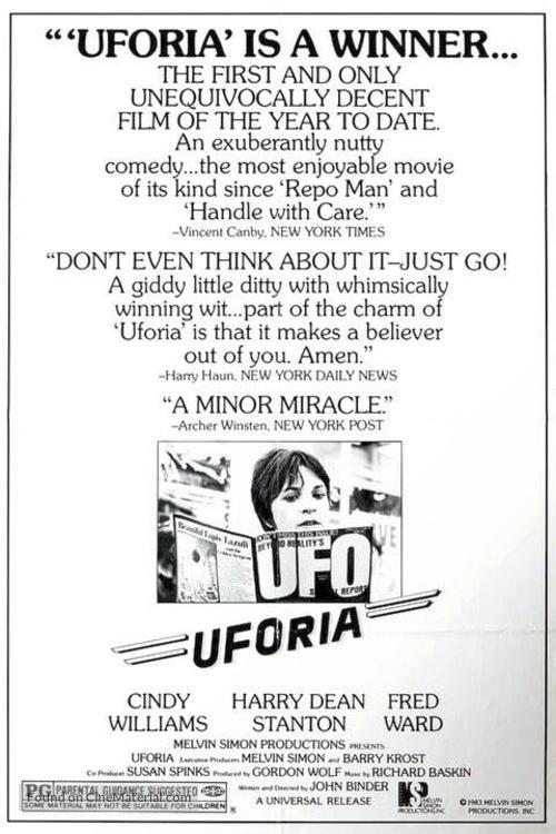 UFOria - poster
