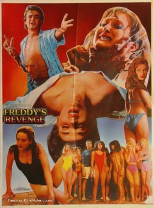 A Nightmare On Elm Street Part 2: Freddy's Revenge - Pakistani Movie Poster