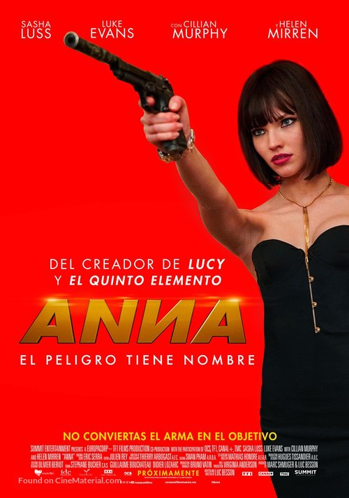 Anna - Mexican Movie Poster